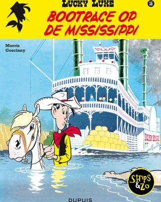 lucky luke 16 Bootrace op de Mississippi