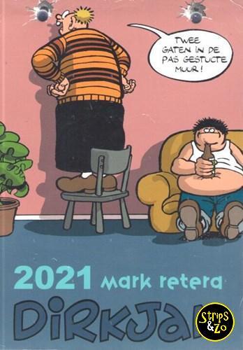 dirk jan scheurkalender 2021