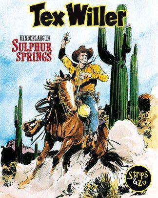 Tex Willer 9 Hinderlaag in Sulphur Springs