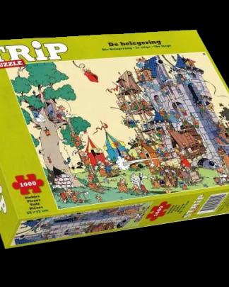 Strip Puzzle De Generaal De belegering
