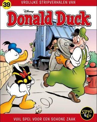 Donald Duck Vrolijke stripverhalen 39 Vuil spel voor een schone zaak