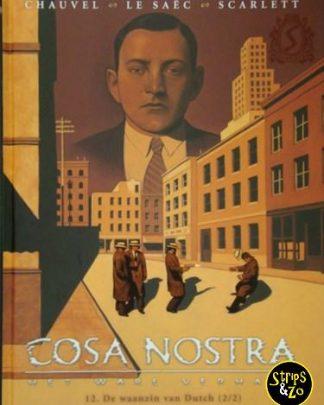 Cosa Nostra 12 De waanzin van Dutch 2