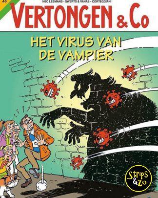 Vertongen Co 33 Het Virus van de Vampier