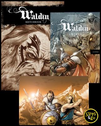 Waldin 2 Gunar Premiumpakket incl. Art Book en Art Print