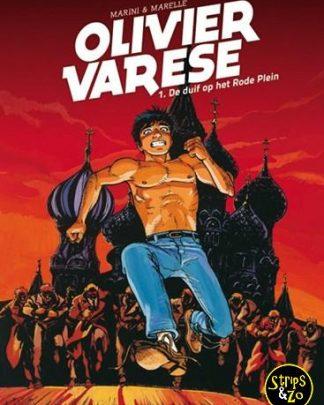 Olivier Varese 1 De duif op het Rode Plein