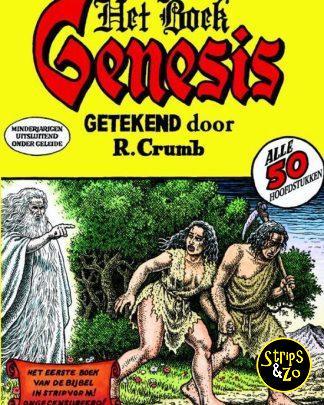 Het boek Genesis R. Crumb