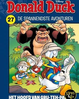 Donald Duck Spannendste avonturen 27 Het hoofd van Gru Teh Pap
