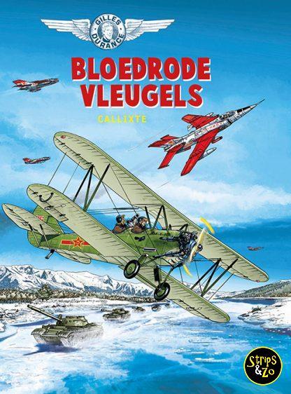 Gilles Durance 4 bloedrode vleugels