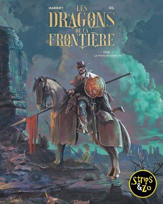 Dragonders van de grens 1 De Santa Fe trail