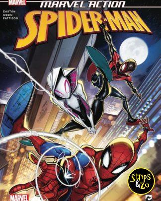 Spider Man Marvel Action 5 Schokkend