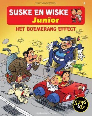 suske en wiske junior 5 het boemerang effect