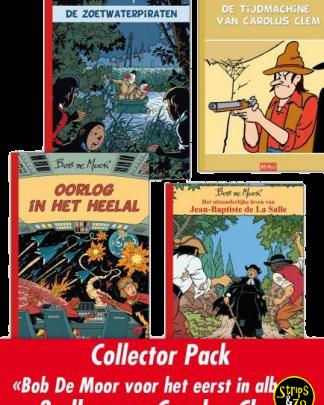 Bob de Moor – collector pack met 3 albums
