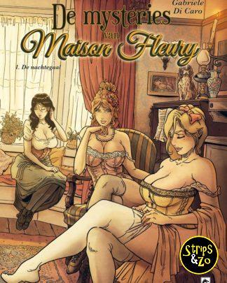 De mysteries van Maison Fleury 1 De Nachtegaal