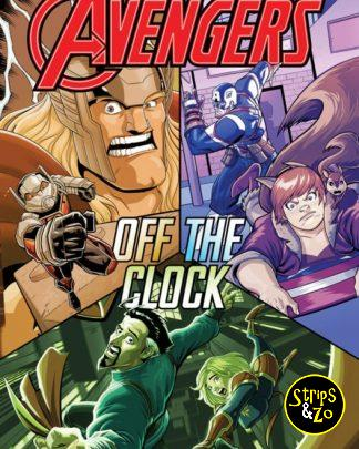 Marvel Action Avengers 5 Off the clock