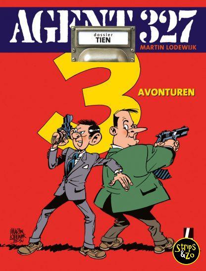 Agent 327 Dossier SC 10 Drie avonturen