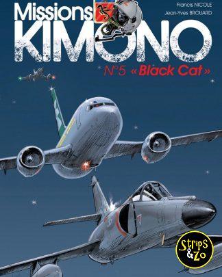 Code Kimono 5 Black Cat