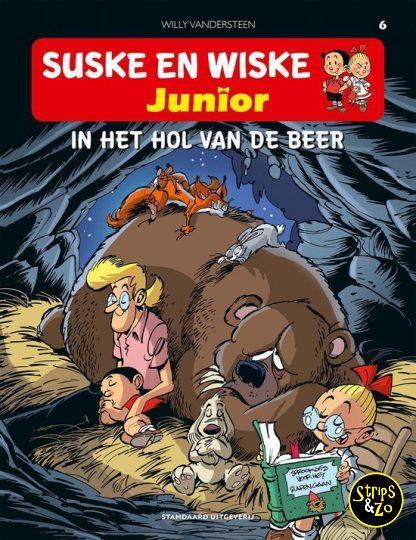 Suske en Wiske Junior 6 In het hol van de beer
