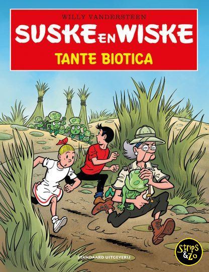Suske en Wiske in het kort 28 Tante Biotica