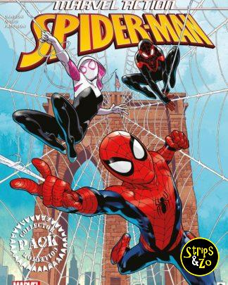 Marvel Action Spider Man Collector Pack